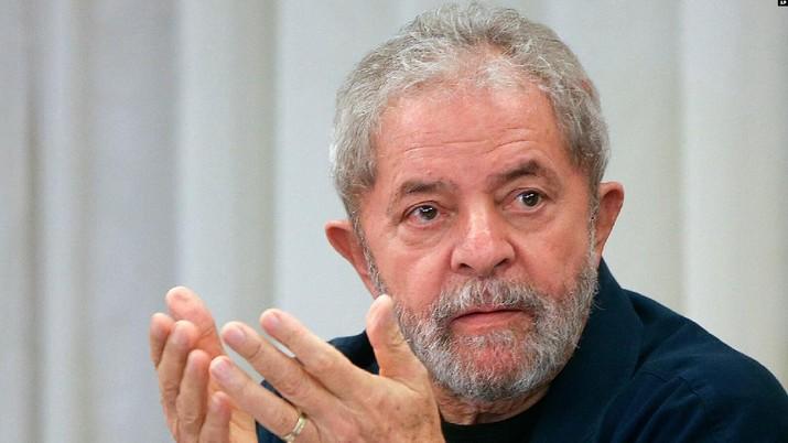 Mantan Presiden Brazil Luiz Inácio