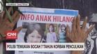 VIDEO: Polisi Temukan Bocah 7 Tahun Korban Penculikan