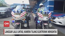VIDEO: Langgar Lalin, Kamera Tilang Elektronik Mengintai