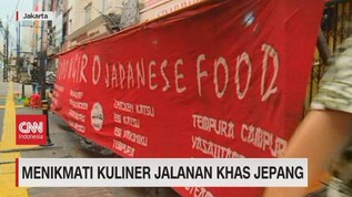 VIDEO: Menikmati Kuliner Jalanan Khas Jepang