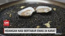 VIDEO: Hidangan Nasi Bertabur Emas 24 Karat