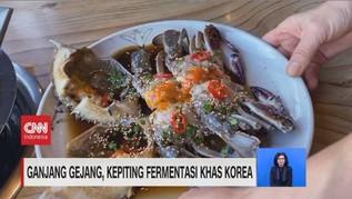 VIDEO: Ganjang Gejang, Kepiting Fermentasi Khas Korea