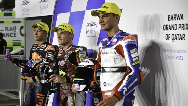 Hasil Moto2 Portugal: Fernandez Juara, Mandalika Gagal Poin