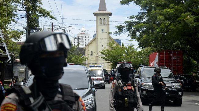 Seorang perempuan dan laki-laki pelaku bom Katedral Makassar diduga bagian dari kelompok JAD. Mereka pernah melakukan pengeboman di Filipina.