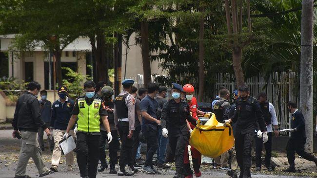 Kapolri Jenderal Listyo Sigit menyebut pelaku bom Katedral adalah warga Makassar jaringan JAD. Kelompok ini berbaiat dengan ISIS.