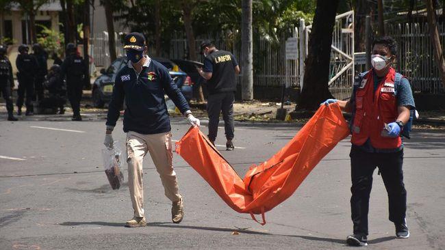 Dewan Keamanan Perserikatan Bangsa-Bangsa (PBB) mengecam serangan bom bunuh diri ke Gereja Katedral Makassar pada Minggu (28/3) pagi.