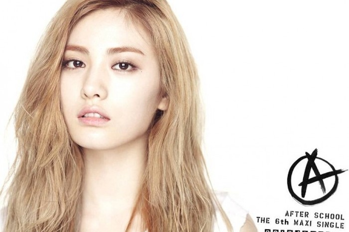 Nana memulai karier sebagai anggota girl group After School pada tahun 2009. Ia dikenal sebagai salah satu visual di industri K-Pop generasi dua / foto: pledisentertainment