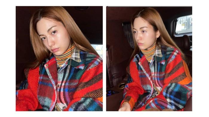 Meskipun sangat mencintai dunia make up, Nana juga sering tampil bare face dan tidak segan membagikan fotonya ke akun instagram / foto: instagram.com/jin_a_nana