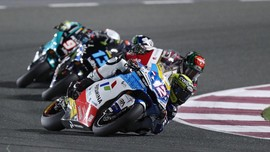 Hasil FP3 Moto2 Portugal: Pertamina Mandalika Melempem