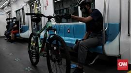 MRT Jakarta Tambah Fasilitas Pembawa Sepeda Non-Lipat