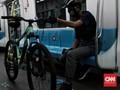 FOTO: MRT Jakarta Ramah Sepeda Non-Lipat