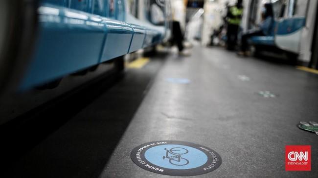 Pemprov DKI mengatur kebijakan baru dengan mengizinkan sepeda non lipat masuk gerbong MRT dengan sejumlah syarat.