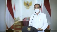 Jokowi Klaim PMI Manufaktur Lebih Baik dari Sebelum Corona