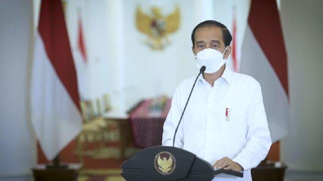 Presiden Jokowi mengklaim Purchasing Managers Index (PMI) manufaktur RI saat ini berada di posisi yang lebih baik dari sebelum pandemi covid-19.