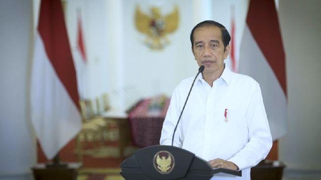 Presiden Joko Widodo menyinggung junta militer Myanmar saat bertemu secara virtual dengan Kanselir Jerman, Angela Merkel, pada Selasa (13/4).