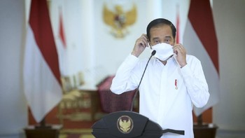 Jokowi Peringatkan Covid Bisa Naik Lagi Jika Tak Waspada