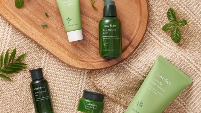 8 Rekomendasi Skincare dengan Khasiat Teh Hijau, Bantu Atasi Jerawat