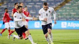 Hasil Kualifikasi Piala Dunia: Italia Menang