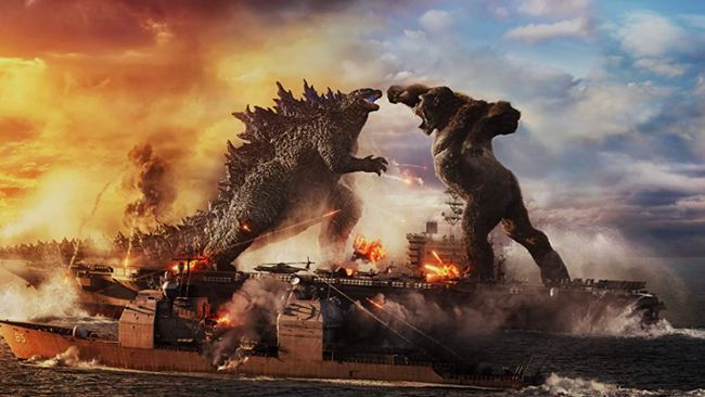 Godzilla vs. Kong menjadi film terlaris di dunia selama pandemi Covid-19 dengan total pendapatan lebih dari Rp5,6 triliun.