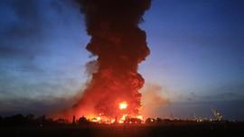 BMKG Ungkap Kebakaran Kilang Balongan Bukan Karena Petir