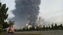 2 Desa Dikosongkan Imbas Kebakaran Kilang Balongan Pertamina