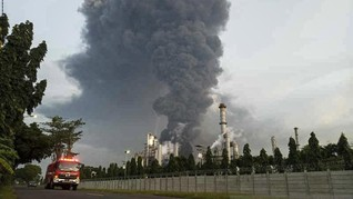Pertamina Investigasi Penyebab Kebakaran Kilang Balongan