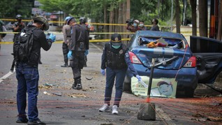 Kominfo Blokir 134 Konten Kekerasan Ledakan Bom Makassar