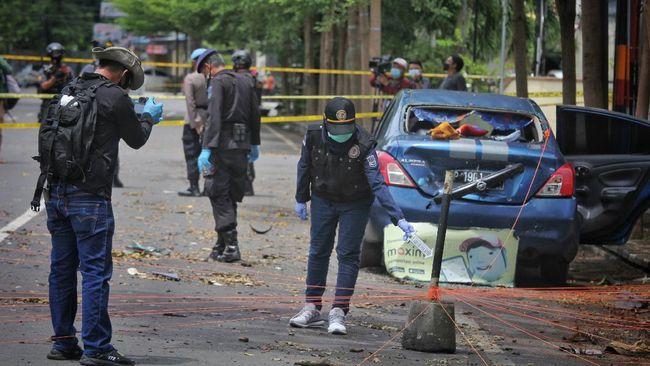 Kominfo mengadakan patroli siber menyisir konten yang mengandung kekerasan usai ledakan bom bunuh diri di Makassar, Sulawesi Selatan.