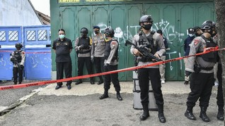 Polisi Musnahkan Bahan Peledak Milik Terduga Teroris Bekasi