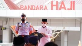 Dorong Food Estate, Ma'ruf Amin Resmikan Bandara Muara Teweh