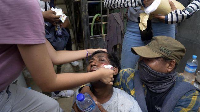 Aksi kekerasan yang dilakukan tentara terhadap warga sipil Myanmar terus terjadi dalam tiga bulan sejak kudeta.