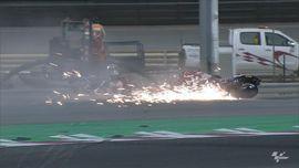 VIDEO: 5 Kecelakaan di MotoGP Qatar 2021