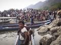 Junta Hancurkan Makanan dan Obat untuk Pengungsi Myanmar