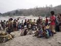 15 Ribu Warga Myanmar Kabur ke India Hindari Konflik Kudeta