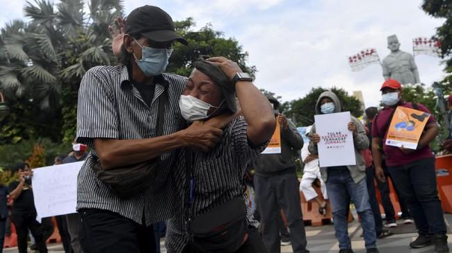 Dua Polisi Ditetapkan Tersangka Penganiayaan Jurnalis Tempo