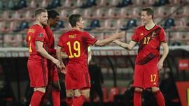 Hasil Lengkap Kualifikasi Piala Dunia 2022: Belgia Menang 8-0