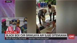 VIDEO: Blackbox CVR Sriwijaya Air SJ182 Ditemukan!