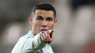 3 Kabar yang Salah Soal Ronaldo Terkait Israel