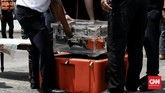 Kotak hitam atau black box Cockpit Voice Recorder (VCR) pesawat Sriwijaya bernomor penerbangan SJ 182 akhirnya ditemukan setelah hampir tiga bulan pencarian.