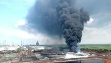 Polisi Belum Tetapkan Tersangka Kebakaran Kilang Pertamina