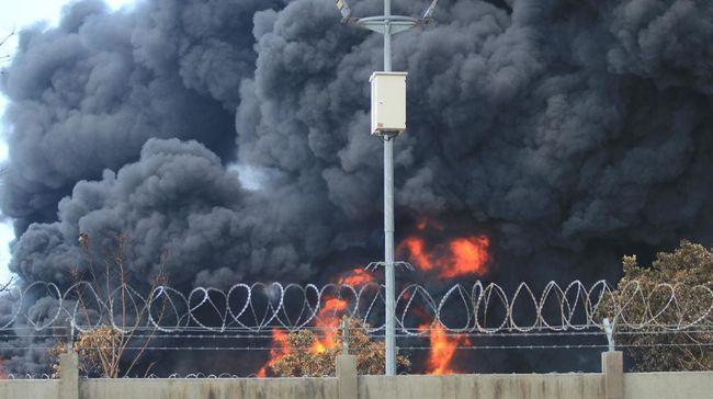 Polri menaikkan status penanganan perkara kebakaran tangki minyak Pertamina RU VI Balongan di Indramayu, Jawa Barat, ke tahap penyidikan.