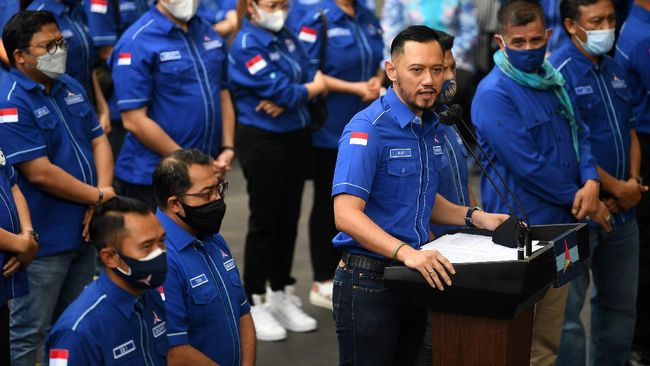 Ketum Demokrat AHY menggugat 12 mantan keder ke PN Jakpus terkait dugaan melawan hukum lantaran menggelar KLB Demokrat di Deli Serdang, Sumut.