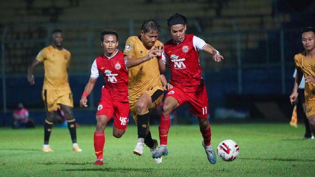 Striker PSM Makassar Patrich Wanggai bisa kembali jadi sorotan saat melawan Persija Jakarta pada leg pertama semi final Piala Menpora 2021.