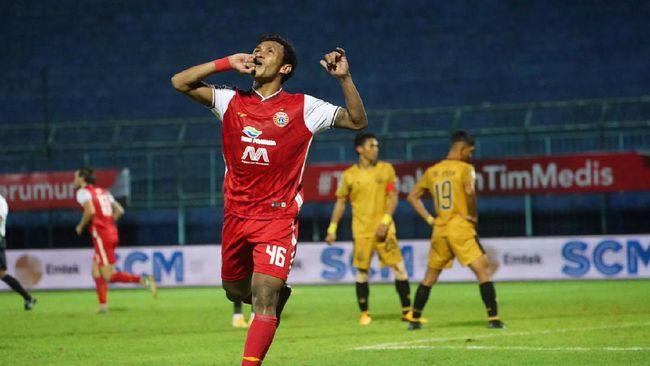 Jadwal siaran langsung semifinal leg kedua Piala Menpora 2021 akan menyuguhkan duel Persija Jakarta vs PSM Makassar, Minggu (18/4).