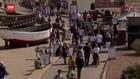 VIDEO: Lockdown Dicabut, Warga Inggris Serbu Pantai