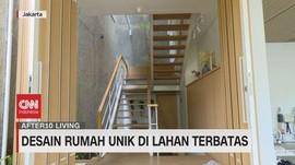 VIDEO: Desain Rumah Unik di Lahan Terbatas