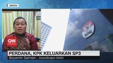 VIDEO: Perdana, KPK Keluarkan SP3