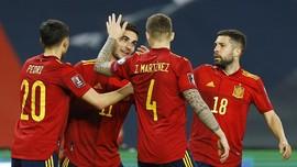 Spanyol Resmi Tanpa Pemain Madrid di Euro 2020