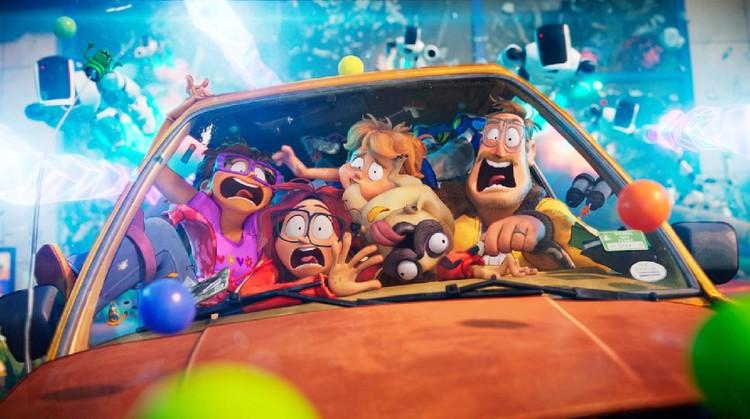 Film animasi Netflix The Mitchells vs The Machines