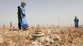 FOTO: Berjumpa Srikandi Penjinak Ranjau di Irak